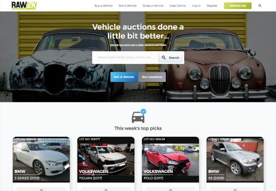 Car auctions - Recycling Lives
