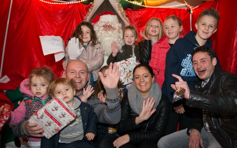 Festive fun at the Christmas Grotto 2015