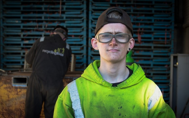 Metal Recycling Apprenticeships at Recycling Lives