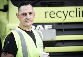 """They set you up for life at Recycling Lives"""