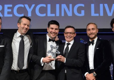 Award win for Recycling Lives' Impact on Society