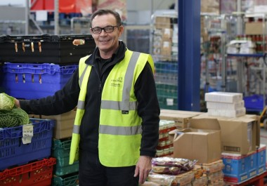 Food Redistribution Centre's team shortlisted in two awards