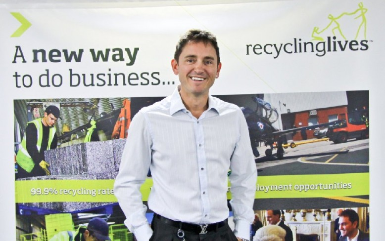 Recycling Lives Founder and Chairman wins top entrepreneur award
