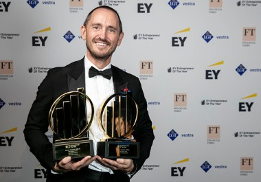 Recycling Lives' founder named UK's Entrepreneur of the Year