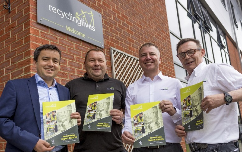 Neil Flanagan made Director of Recycling Lives charity