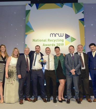 Recycling Lives' prison partnership wins award