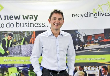 Recycling Lives CEO shortlisted for Growing Business Award