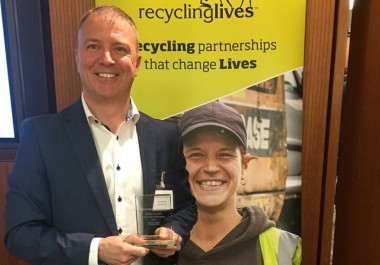 Recycling Lives charity leader named Criminal Justice Champion