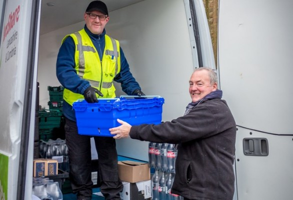 Recycling Lives' food redistribution continues Cumbrian expansion