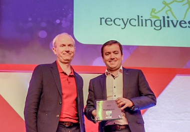 Recycling Lives handed Sunday Times' One To Watch award