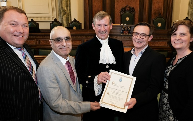 Recycling Lives handed two High Sheriff awards