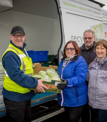 Recycling Lives marks first year delivering meals to Cumbria