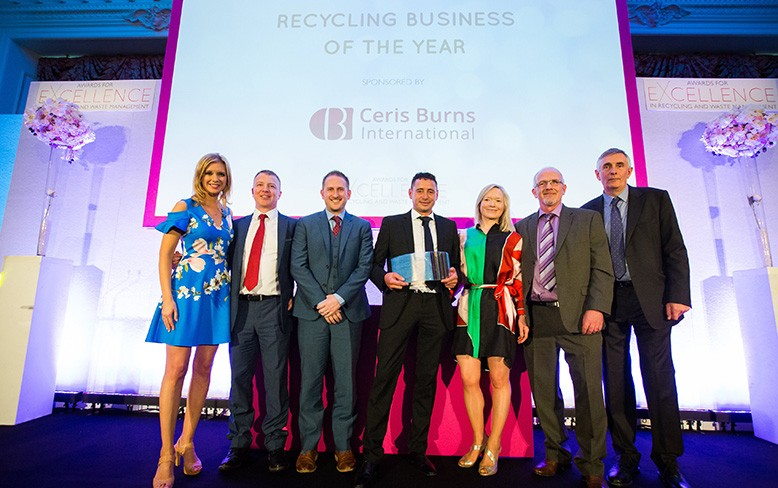 Recycling Lives named Recycling Business of the Year