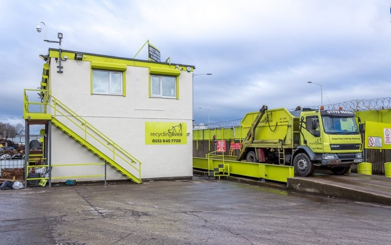 Recycling Lives opens new site in Birkenhead