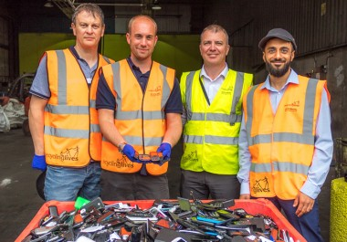 Recycling Lives recycles phones seized from prisons