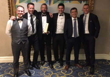 Recycling Lives scoop second Team of the Year Award