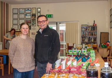 Recycling Lives tackling 'holiday hunger'