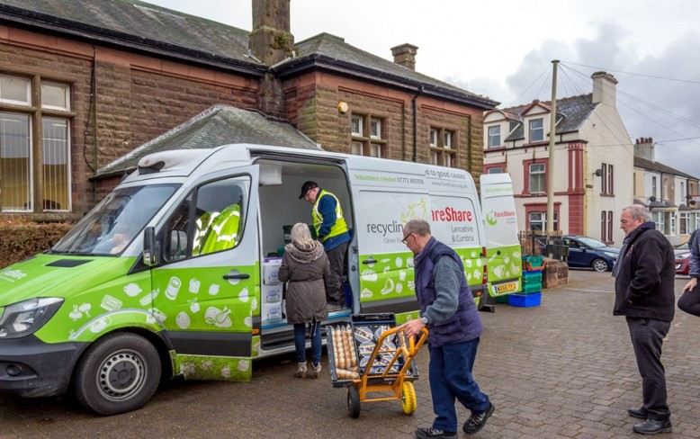 Recycling Lives to open FareShare Lancashire and Cumbria