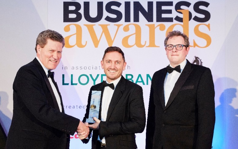 Recycling Lives win Business of the Year Award 2015