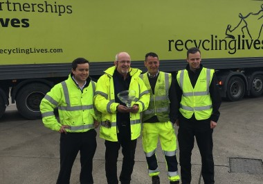 Recycling Lives Wins Third Queens Award