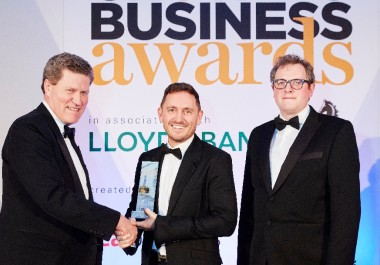 Steve Jackson OBE wins Entrepreneur of the Year Award