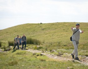 Charity residents walk Dungeon Ghyll to Pavey Ark 10