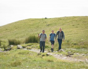 Charity residents walk Dungeon Ghyll to Pavey Ark 11