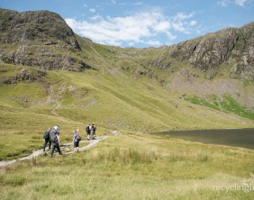 Charity residents walk Dungeon Ghyll to Pavey Ark 12