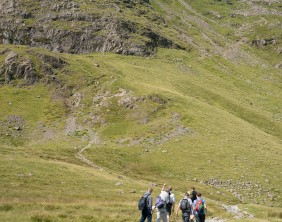 Charity residents walk Dungeon Ghyll to Pavey Ark 13