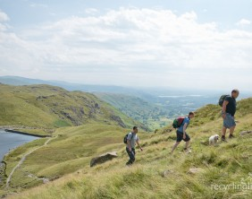 Charity residents walk Dungeon Ghyll to Pavey Ark 14