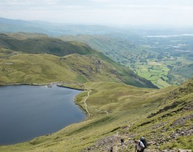 Charity residents walk Dungeon Ghyll to Pavey Ark 15