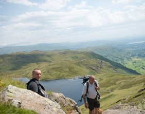 Charity residents walk Dungeon Ghyll to Pavey Ark 16