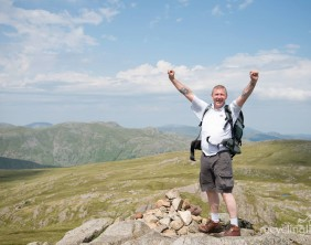 Charity residents walk Dungeon Ghyll to Pavey Ark 18