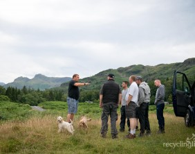 Charity residents walk Dungeon Ghyll to Pavey Ark 2
