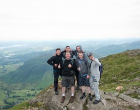 Charity residents walk Dungeon Ghyll to Pavey Ark 20