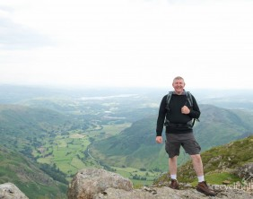 Charity residents walk Dungeon Ghyll to Pavey Ark 22