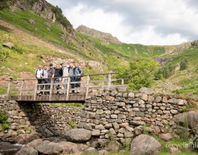 Charity residents walk Dungeon Ghyll to Pavey Ark 3