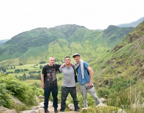 Charity residents walk Dungeon Ghyll to Pavey Ark 4