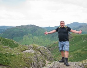 Charity residents walk Dungeon Ghyll to Pavey Ark 6