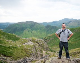 Charity residents walk Dungeon Ghyll to Pavey Ark 7