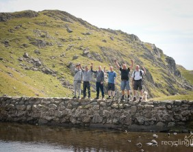 Charity residents walk Dungeon Ghyll to Pavey Ark 9
