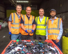 Recycling Lives Recycles Phones Seized From Prison
