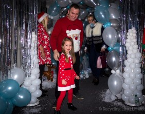 Recycling Lives Santa's Grotto 2017 25
